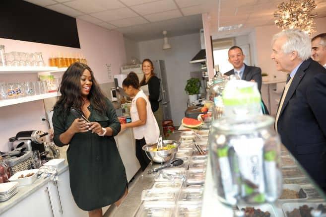 Sandra, ancienne stagiaire de L'E2C Allier, ouvre Mareja Restaurant sur Mesure