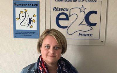 Aurélie CHABRILLAT, nouvelle responsable pédagogique de l'E2C Allier