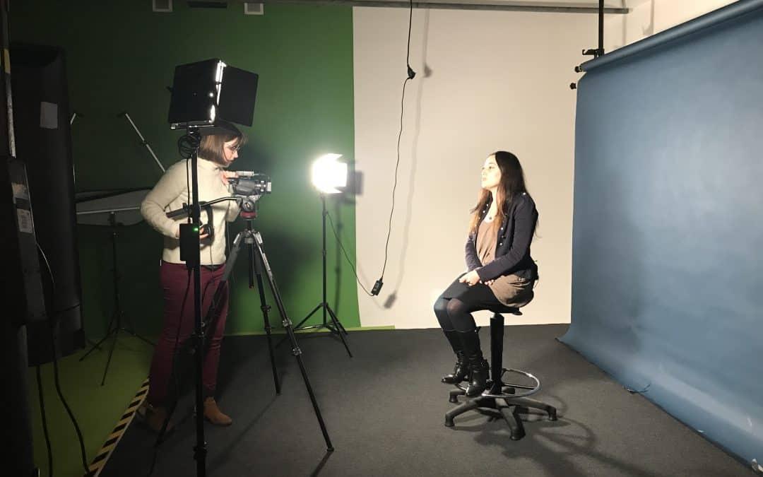 Nouvelle séance de tournage de CV Vidéo !