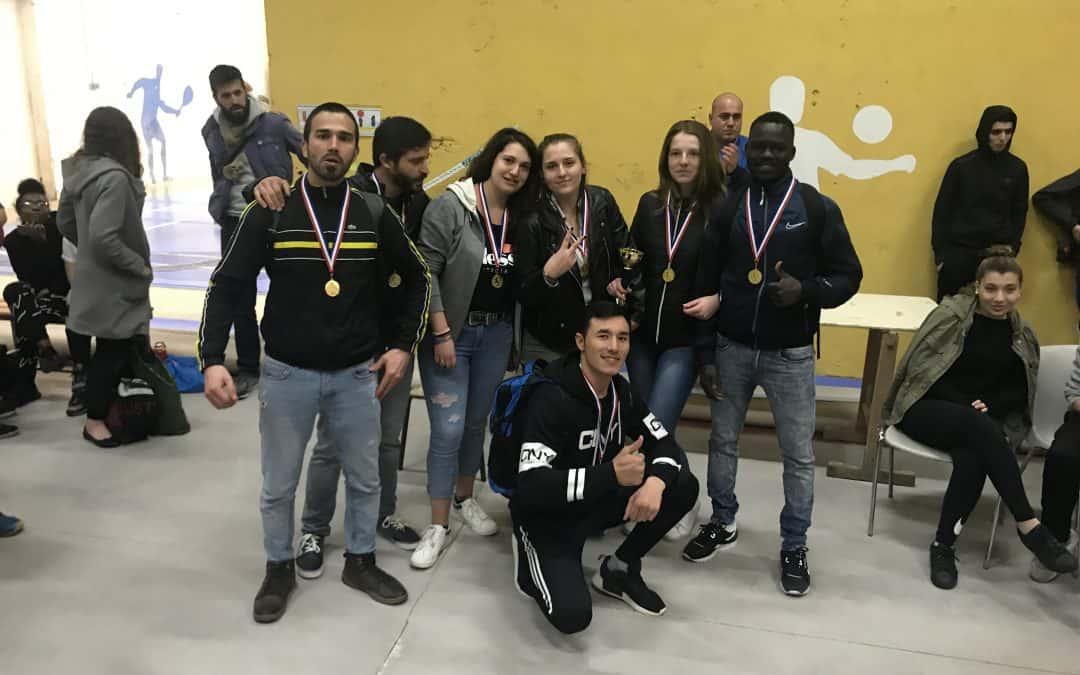 Tournoi de Futsal : 2ème place pour les stagiaires de l'E2C Allier !