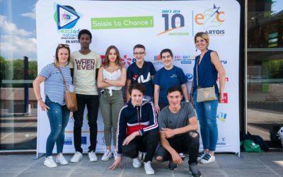 Une belle 3ème place aux E2Ciades pour l'E2C Allier !