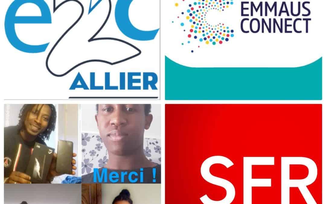 Emmaüs Connect lutte contre l'exclusion numérique