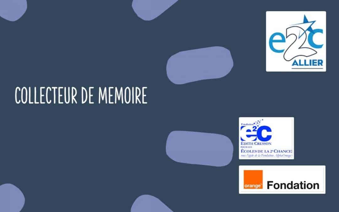 Projet Collecteur de Mémoire